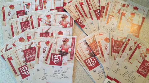 Cardinal Tickets May 20th (6:15pm Game Time)